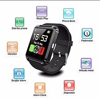 IBS's U8 Square Men Smart watch Without Sim and With Bluetooth