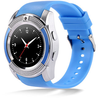 Bingo C6 Blue Smartwatch With Bluetooth and Sim Enabling Feature Support Android and IOS System