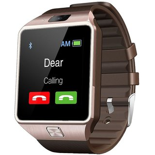 IBS's Dz09 Square Unisex Smart watch With Sim and With Bluetooth