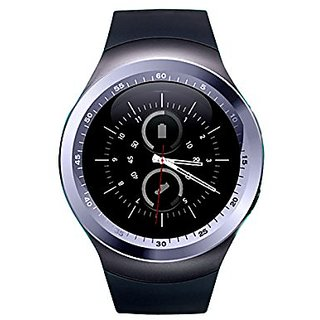 BINGO's Y1 Round Unisex Smart watch With Sim and With Bluetooth