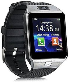 Onskart's Dz09 Square Unisex Smart watch With Sim and With Bluetooth