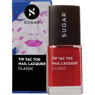 SUGAR Tip Tac Toe Nail Lacquer - 055 Brick by Brick (Yellow Red)