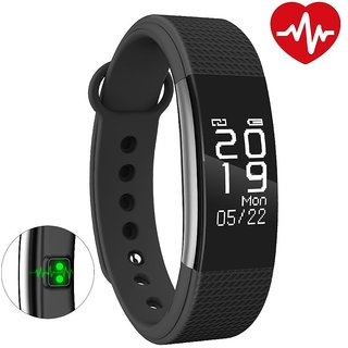 Bingo F1 Waterproof Silicon Smart Fitness Band For All smart phones (BLACK)