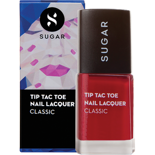 SUGAR Tip Tac Toe Nail Lacquer - 056 Cherry Jane (Pink Red)