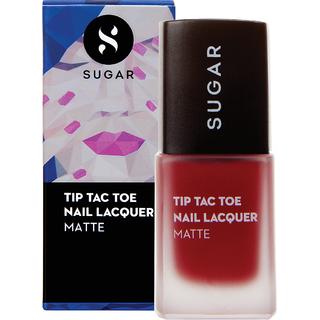 SUGAR Tip Tac Toe Nail Lacquer - 058 Scarlett O'Hara (Matte Red)