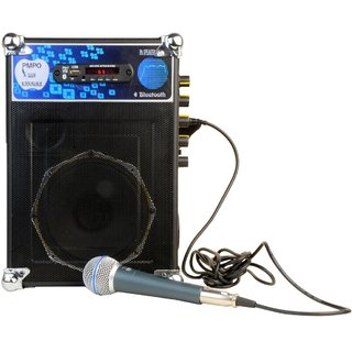 Dawn PA333 Portable Public Address System(PA System) With Bluetooth USB AUX-IN FM Radio SD/MMC