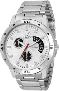 PIRASO 9132 Chronograph Pattern Decker Analog Watch - For Men 6 monthwarranty