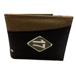 Unique Men's Denim Brown Wallet (Denim17-02)
