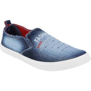 Weldone Washed Loafers For Men