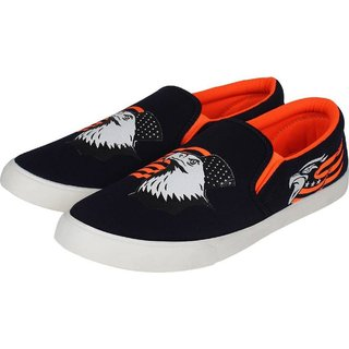 Weldone Printed Loafers For Men