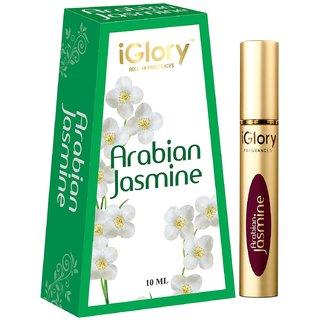 IGLORY ROLL ON ITTAR  PERFUME, NON ALCOHOLIC  LONG LASTING  ARABIAN JASMINE  10ML