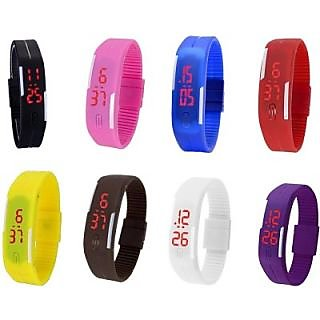 LED MULTI COLOR UNISEX COMBO LIMITED STOCK FAST SELLING OUT Digital Watch - For Boys, Girls, Men, Women