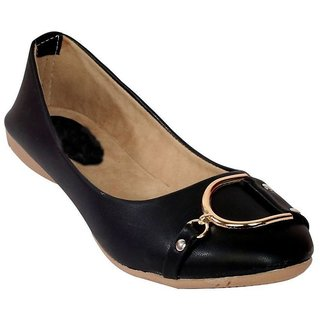 Vaniya Shoes Black Bellie