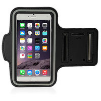 Callmate ArmBand For IPhone 6+ 5.5 Inch With Free Screen Guard - Black