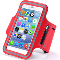Callmate ArmBand For IPhone 6+ 5.5 Inch With Free Screen Guard - Red