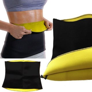 Fashion Addiction Unisex Slimming Belt Hot Shaper Black