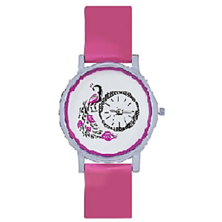 Choice New brand Pink More Analog Watch For Girls Women