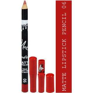 Matte Lipstick Pencil True Instant Color-06 Long-Wearing