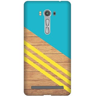 Printland Back Cover For Asus Zenfone Laser ZE550KL