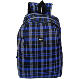Donex 14 L Polyester Light Weight College/Exam Backpack Multicolor RSC01849