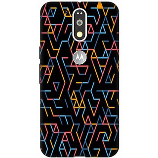 Printland Back Cover For Motorola Moto G4 Plus