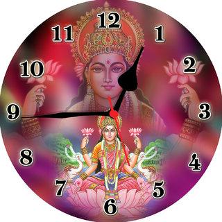 3d laxmi maa1 wall clock
