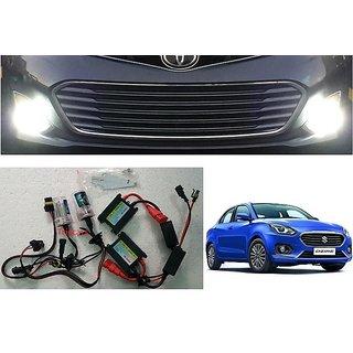 Trigcars Maruti Suzuki Swift Dzire 2018 Fog Lamp HID