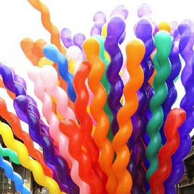 Crazy SutraSpiral Shape Party Balloons (40pc)