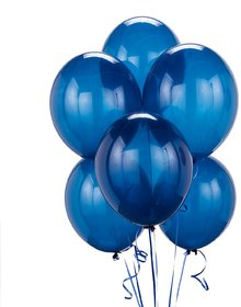 Crazy Sutra High Quality Metallic Blue Party Balloons (50pc)
