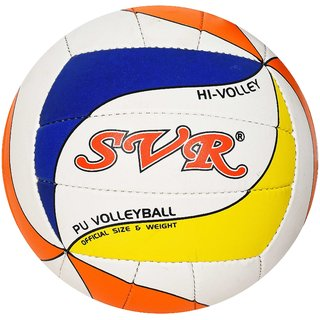 SVR Pro-lite Volley Ball for Beginners And Trainers Lightweight Practice Pro-lite Volley Ball made in Premium Quality PU