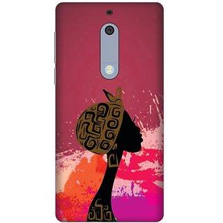 Printland Back Cover For Nokia 5