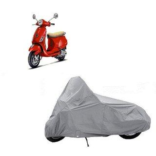 Auto MAX Premium SILVER-Matty Bike Body Cover For Vespa VXL 125
