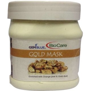 Biocare GemBlue Gold Beauty Cream Scrub (500 ml)