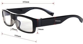 Full HD 1080p Spy Camera Glasses