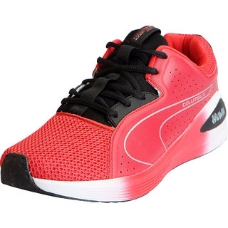 Columbus Mens H2 Red Sports Lifestyle Gym Running Shoes