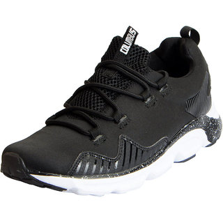 Columbus Mens ARMY 2 Black Sports Lifestyle Gym Running Shoes