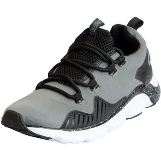 Columbus Mens ARMY 2 Grey Black Sports Lifestyle Gym Running Shoes