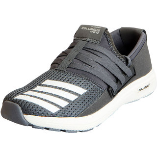 Columbus Mens LIFESTYLE Grey Sports Lifestyle Gym Running Shoes