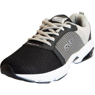 Columbus Mens STUNT L.Grey Black Sports Lifestyle Gym Running Shoes
