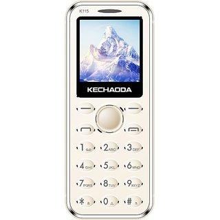 Kechaoda K115 (Dual Sim, 1.44 Inch Display, 800 Mah Battery, Gold)