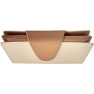 Ladies Wallet cum purse, Wheatish plus Tan