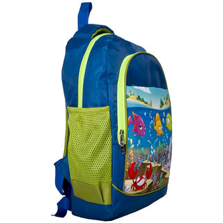 Lill Pumpkins Blue Beach School Bag