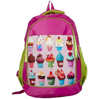 Lill Pumpkins Purple beach School Bag