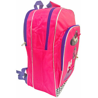 Lill Pumpkins Pink Diva School Backpack bag