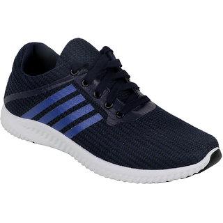 Verdade Men's Lace-Up Sports Shoes (Blue)