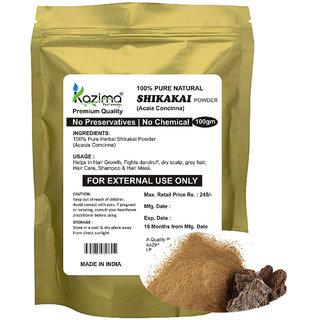 KAZIMA Premium Quality Shikakai Powder (100g) - 100% Pure Natural Herbal & Fresh - Hair Growth Fights dandruff dry scalp grey hair Hair Care