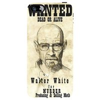 Snoogg Wanted Dead Or Alive Breaking Bad Case Cover For Apple Iphone 5C
