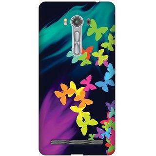 Printland Back Cover For Asus Zenfone Laser ZE 550KL