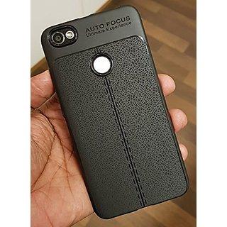 Redmi Y1 Cover/ Case Premium Look Back Case Leather Texture Design Rugged TPU Material Slim Fit Redmi Y1 -EZ327