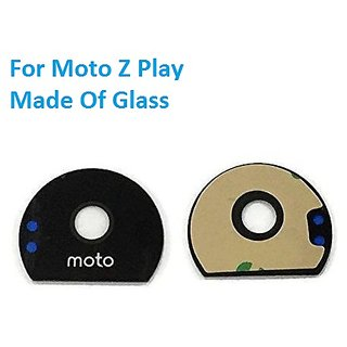 Unbranded Rear Back Camera Glass Lens With Adhesive Sticker For Motorola Moto Z Play